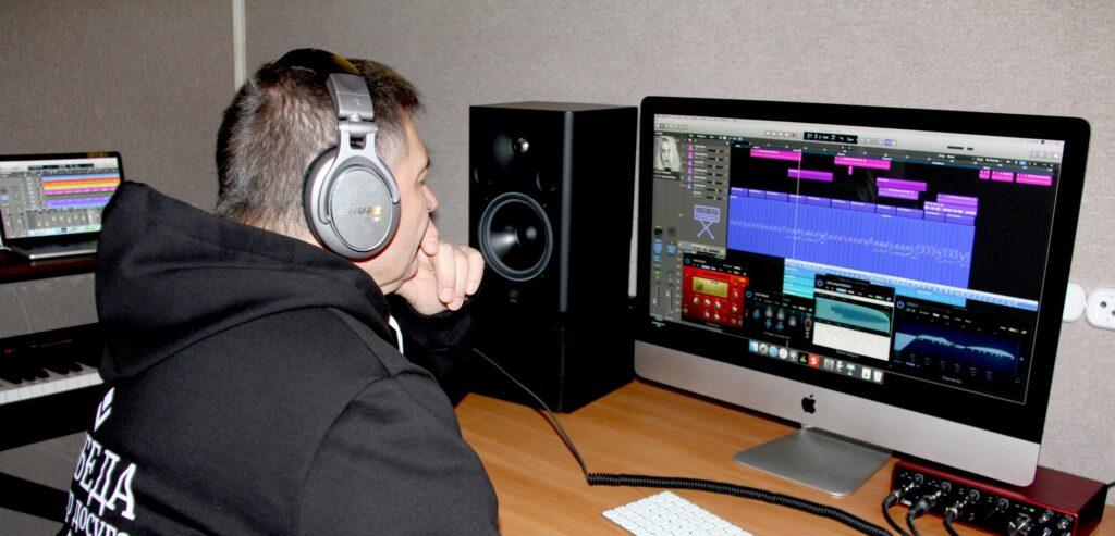 В студии звукозаписи ЦД «Победа» обновлено звуковое оборудование