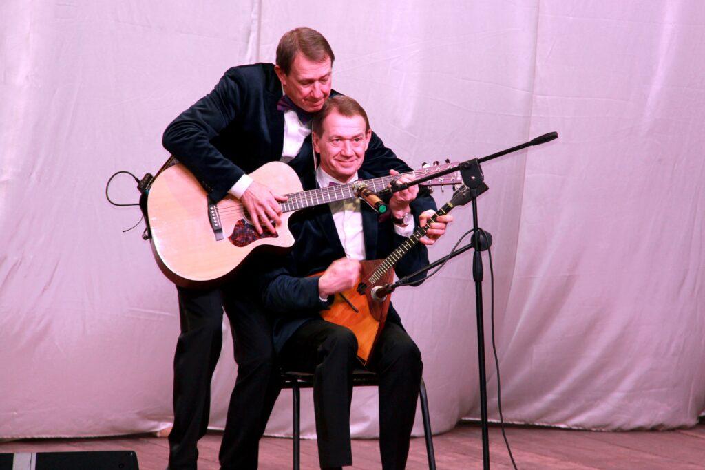 Концерт братьев Пономаренко в Зарайске