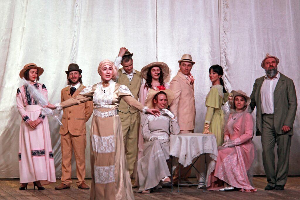 Ступинская филармония со спектаклем в Зарайске