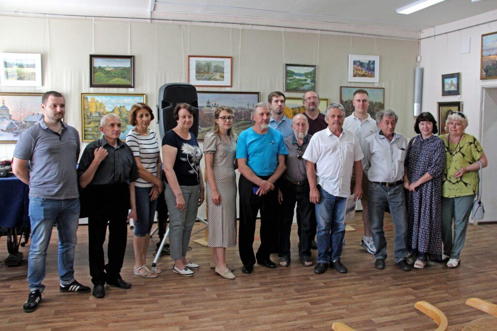 Открытие выставки ТСХ «Окская Палитра»